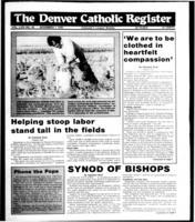 Denver Catholic Register November 7, 1990