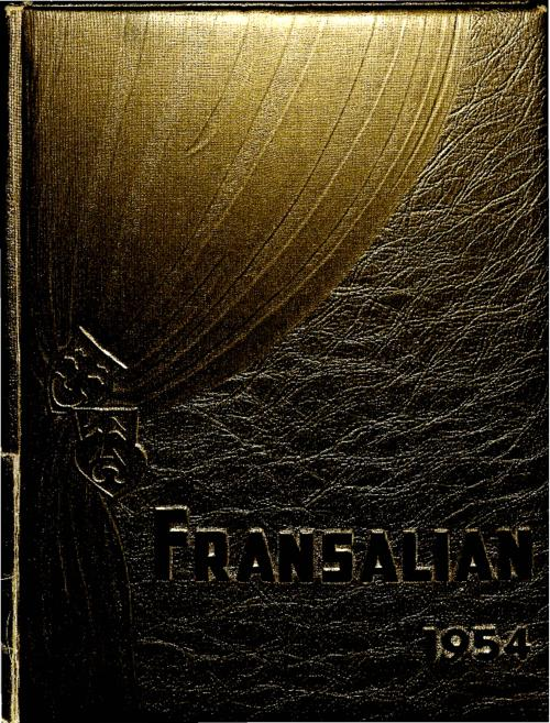 The Fransalian was the yearbook for St. Francis de Sales High School