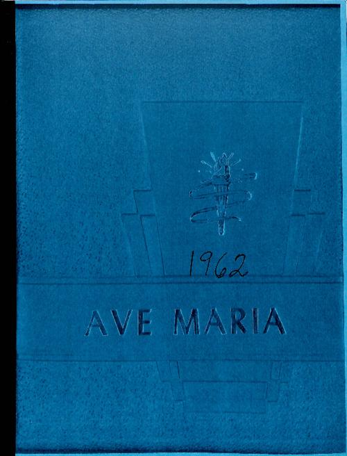 Ave Maria was the yearbook of Our Lady of Mount Carmel High School.  This version was copied for the archives by an alum